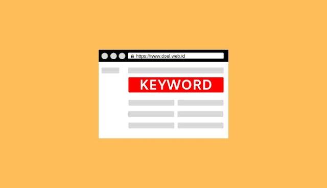 mencari keyword