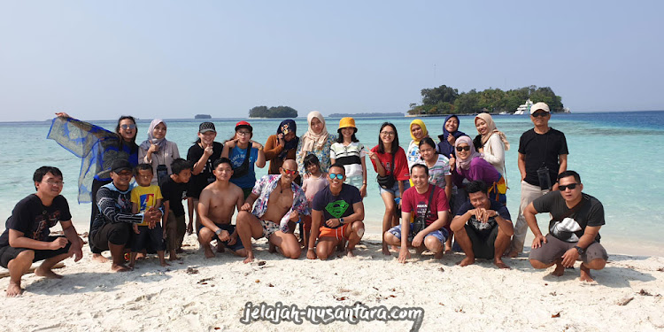 paket wisata open trip pulau harapan 3 hari 2 malam