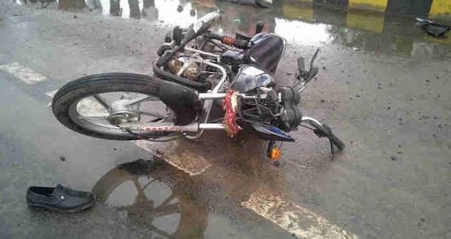 उत्तराखंड: ब्लॉक प्रमुख की कार से बाइक सवार टकराया, मौके पर ही मौत
