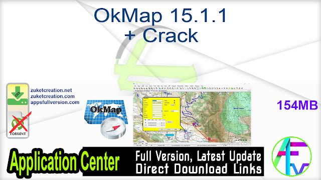OkMap 15.1.1 + Crack
