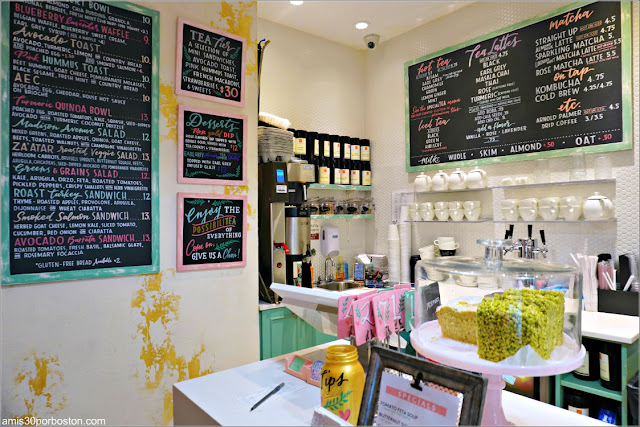 Cafetería Blank Slate Tea en Nueva York
