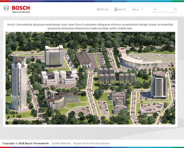 Bosch Termoteknik referans projeleri için dijital platform oluşturdu