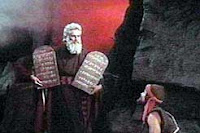 Moses with the Law