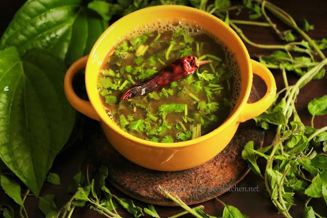 Tulasi & Beetal Leaf Rasam