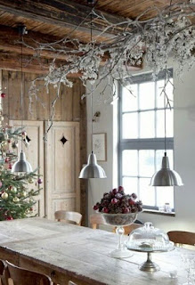 decorar cocina navidad