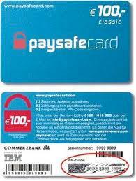 Online Paysafe Karten Kaufen