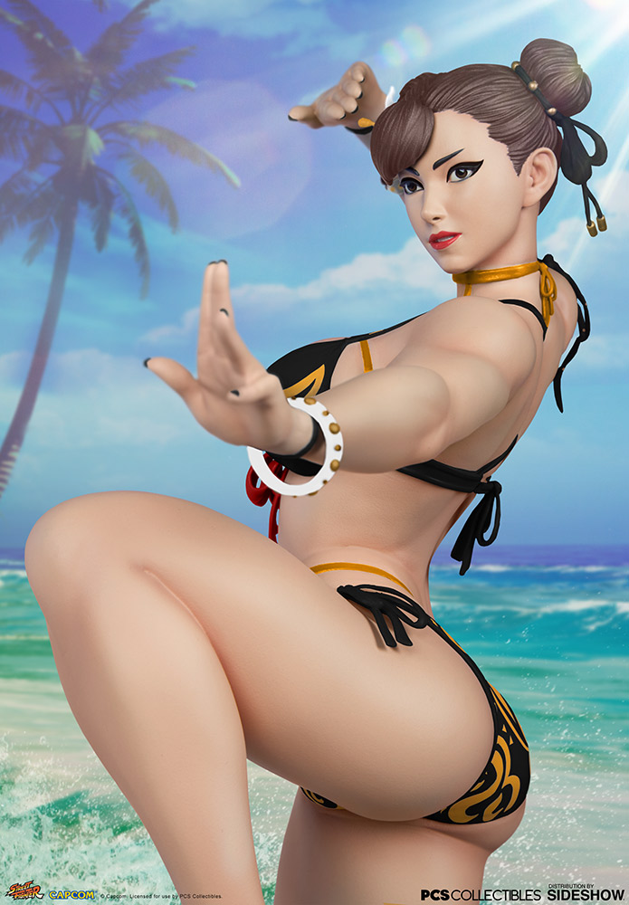 Chun-Li Player 2 Battle Costume Statue de Street Fighter - Pop Culture Shock