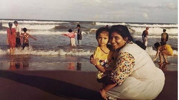 Chennai, News, National, Entertainment, Cinema, Photo, Actress,  childhood photo of famous actress goes viral