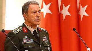 """أكار: قمنا بالرد على """"الهجوم الدنيء"""" لقوات النظام السوري"""