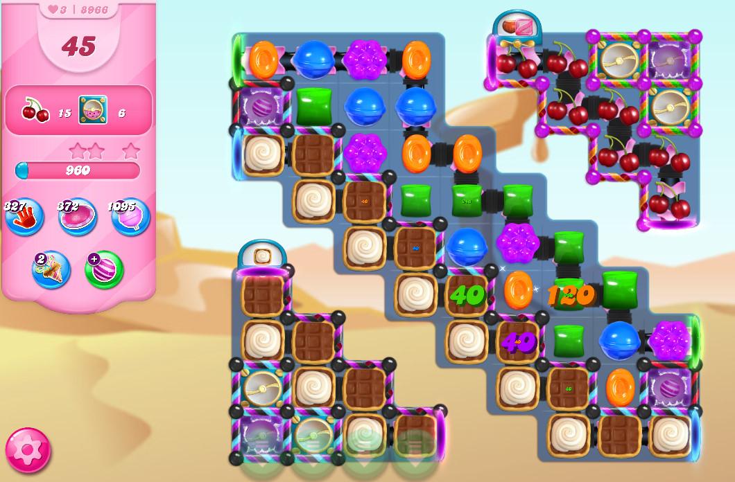 Candy Crush Saga level 8966