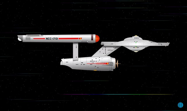 Comparing the Star Fleet ships' speed