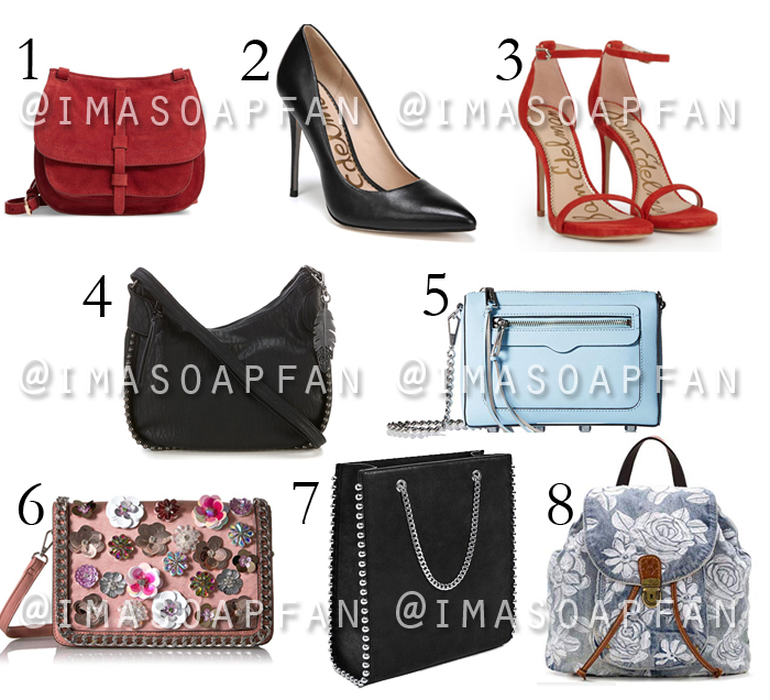 Soap Opera Purses and Shoes Gift Guide