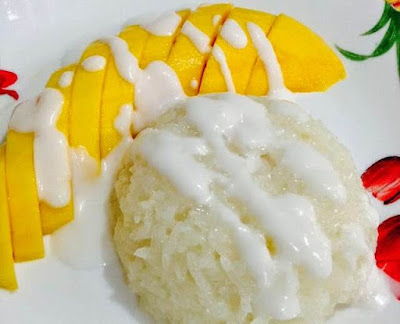 Resepi Pulut Mangga Thailand