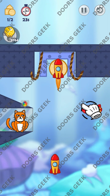 Hello Cats Level 167 Solution, Cheats, Walkthrough 3 Stars for Android and iOS