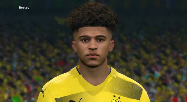 Jadon Sancho Face PES 2017