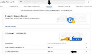 Keamanan akun google