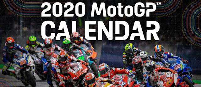 Jadwal MotoGP Terbaru 2020 Live di Trans 7, Jam Tayang MotoGP 2020, kalendar motogp, calendar
