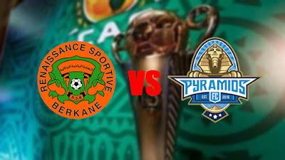 مشاهدة مباراة بيراميدز ضد نهضة بركان 25-10-2020 بث مباشر في كأس الكونفدرالية الافريقية