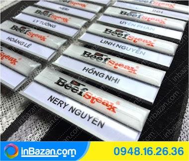 Đơn vị sản xuất Bảng tên nhân viên tại BMT Daklak