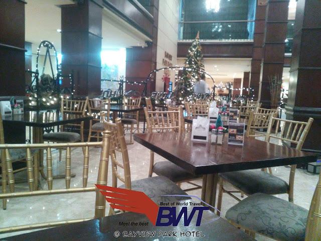 Bayview Park Hotel in Roxas Boulevard Manila  lobby check