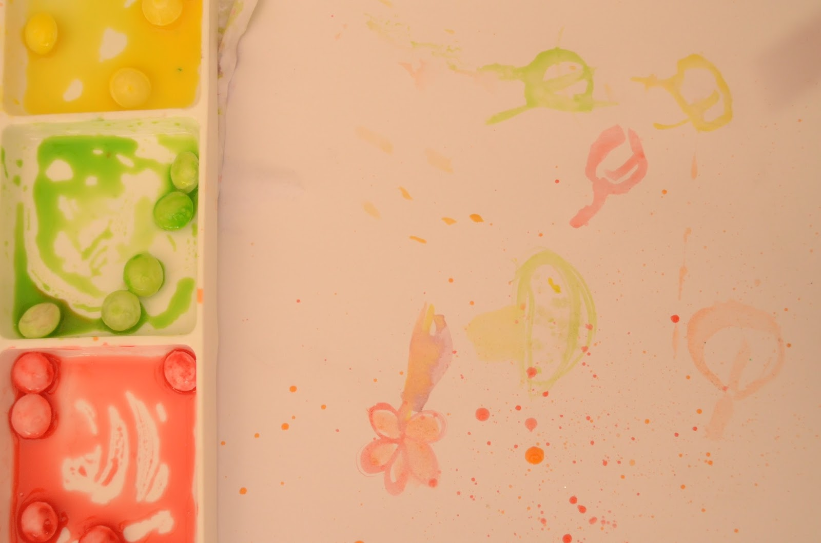 Kids Art with Skittles: No Skittles please, We're Skittish, by Practical Mom