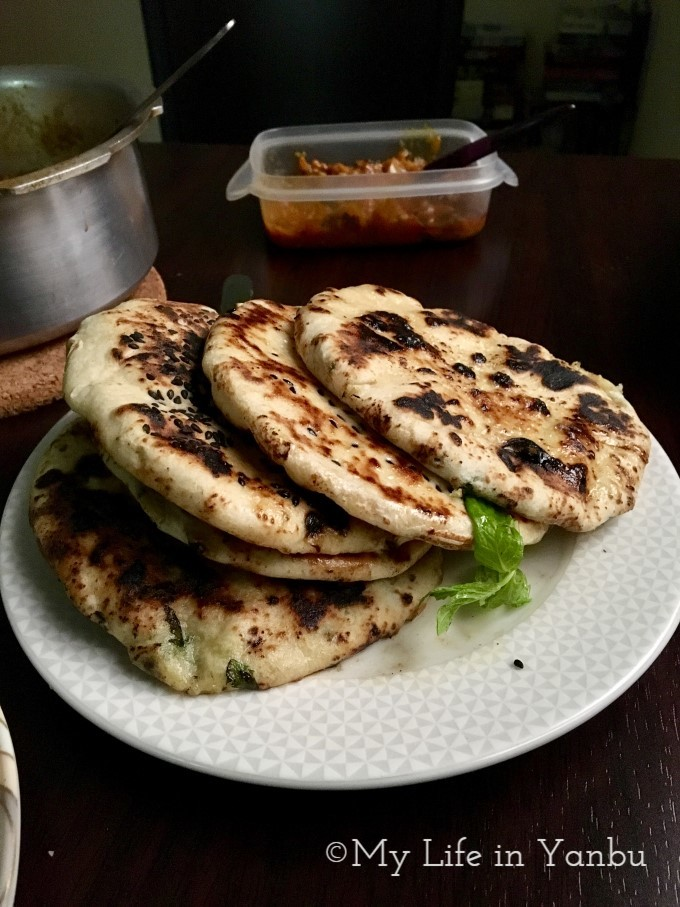 Kulcha on Stove-top