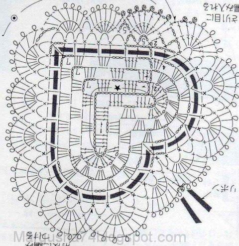 Схема перекрещенного столбика