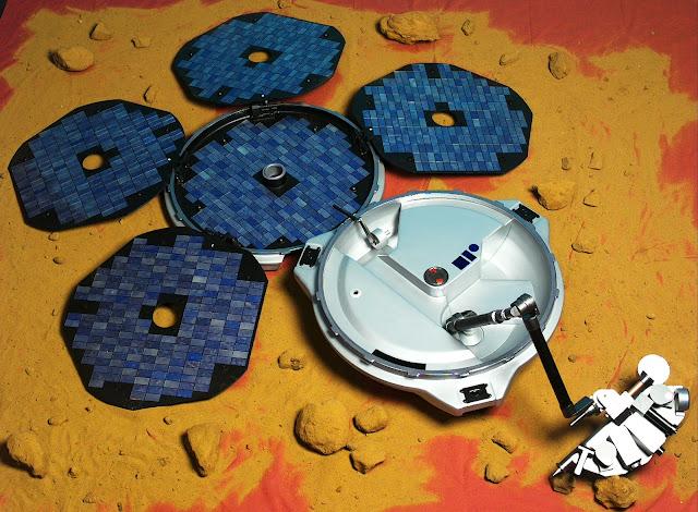 La sonda perdida Beagle 2