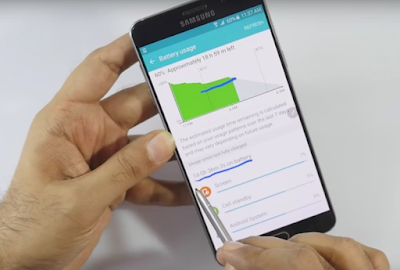 How to Reducing Battery Consumption on Galaxy Note 5 Tips