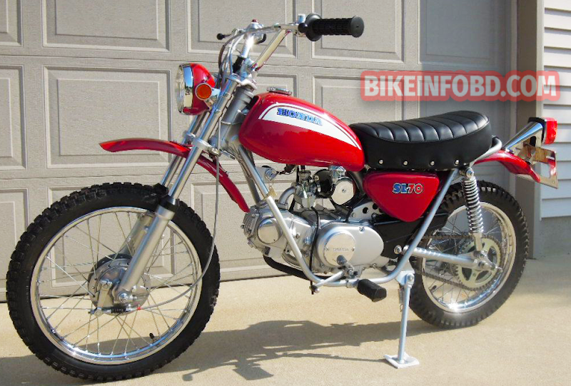 Honda SL70 Specifications, Review, Top Speed, Picture, Engine, Parts & History