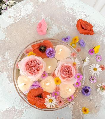 Gartendeko mit Kerzen selbermachen