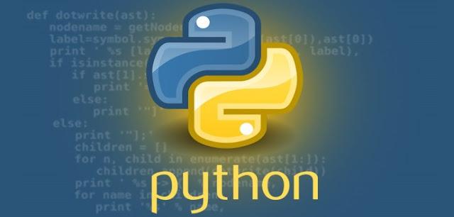Python programlama görseli