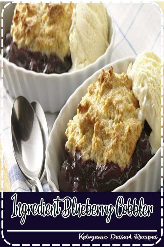 Ingredient Blueberry Cobbler Quick and easy blueberry cobbler dump cake Ingredient Blueberry Cobbler