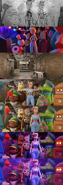 Toy Story 4 - Proceso de animacion