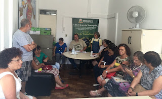 Reunião em prol dos artesãos de Teresópolis