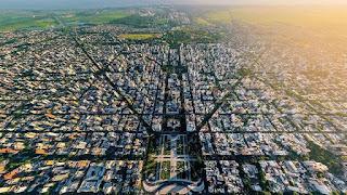 La Plata, Argentina Aerial view