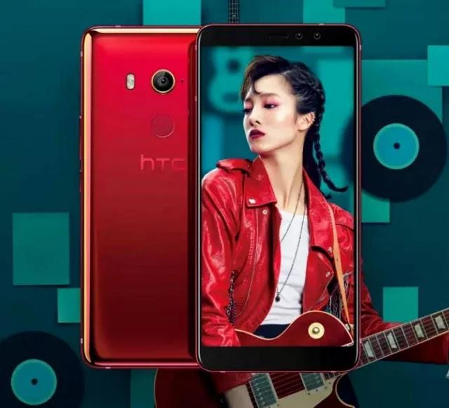 HTC U11 EYEs Diluncurkan Hari ini dengan Spesifikasi Gahar