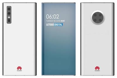 Under-Display Selfie Camera Smartphone via Huawei