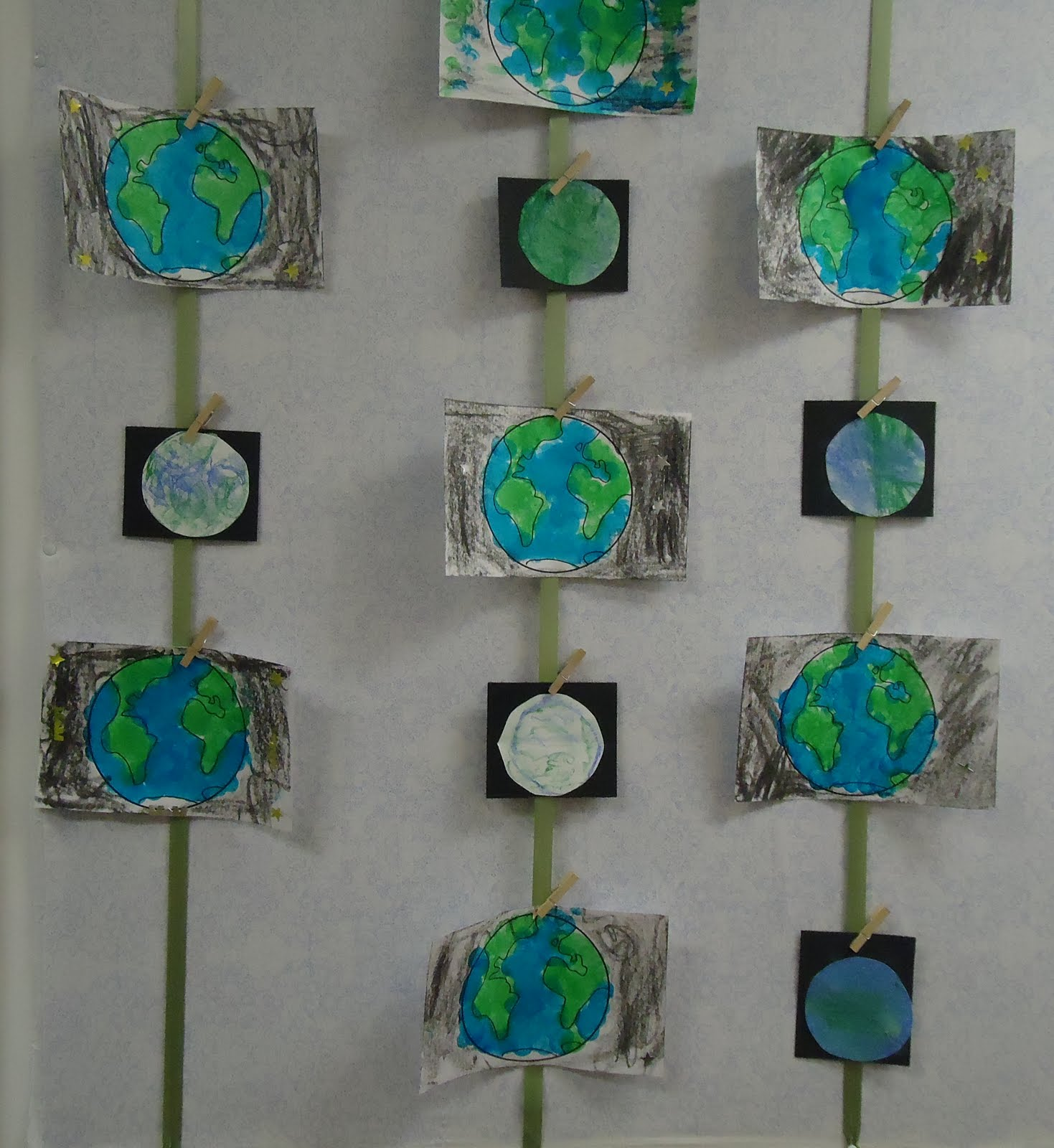 To The Lesson More Earth Day Art