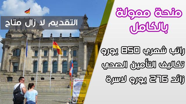 منحة ممولة بالكامل تقدمها مؤسسة فريدريش إيبرت للطلاب الدوليين لدراسه البكالوريوس والماجستير في ألمانيا  براتب 850 يورو شهريا