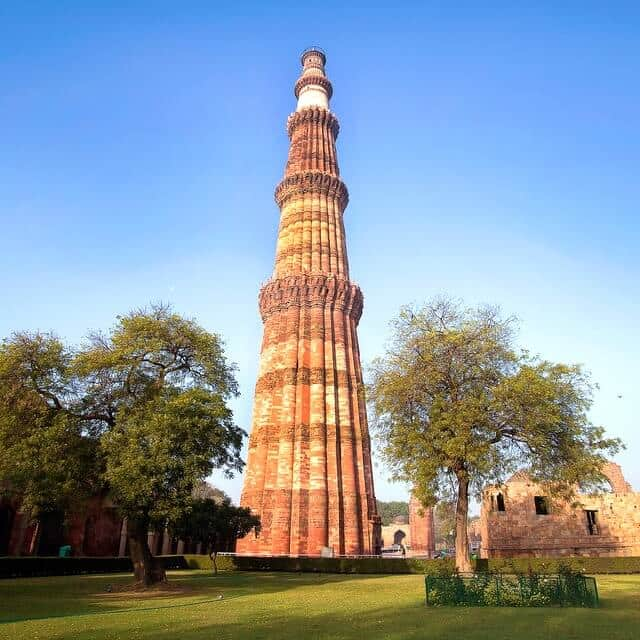 10 Lines on Qutub Minar in English | Few Important Lines on Qutub Minar in English
