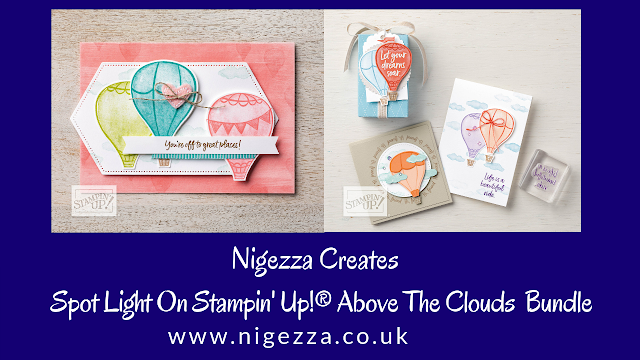 Nigezza Creates Stampin' Up! Above The Clouds