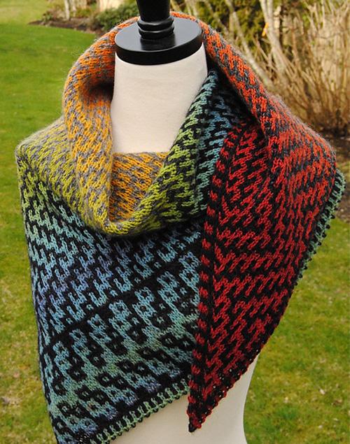Dovetail Shawl - Knit Pattern