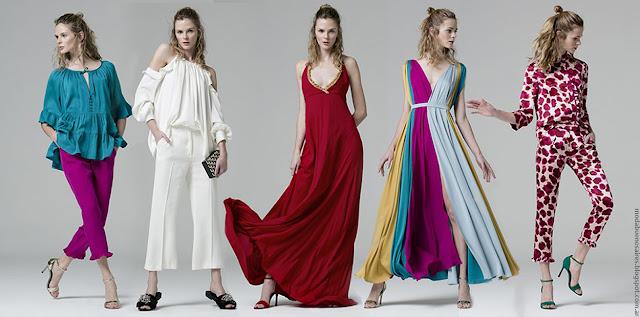 Moda primavera verano 2017 vestidos, túnicas, pantalones, tops verano 2017. Moda 2017.