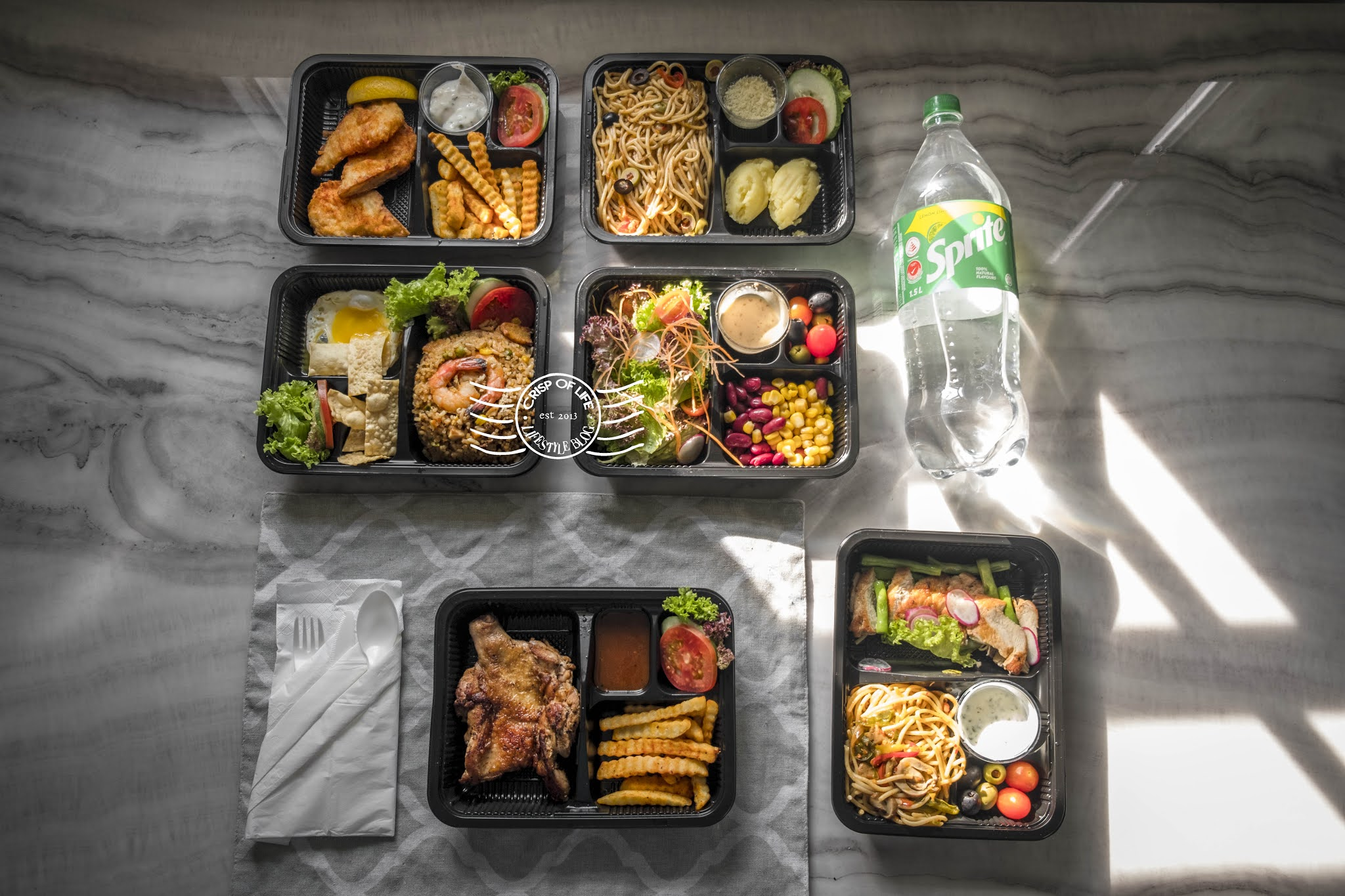 Stay At Home Made Easier with Hompton Hotel Affordable Food Delivery Starting From RM 8