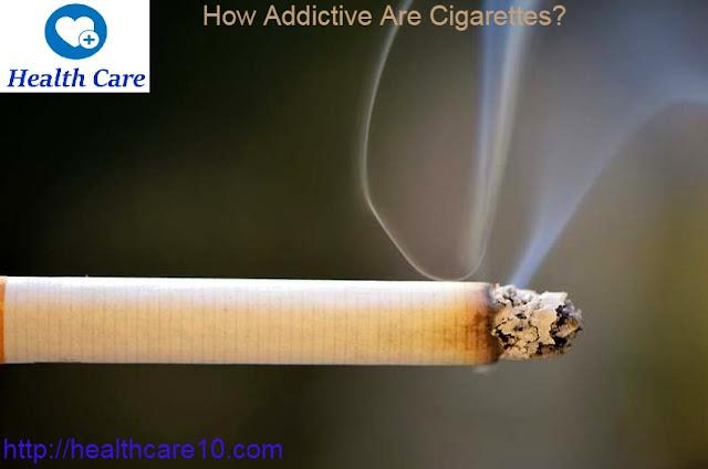 Health  How Addictive Are Cigarettes