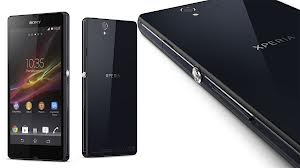 Sony Xperia Z Design and Appearance