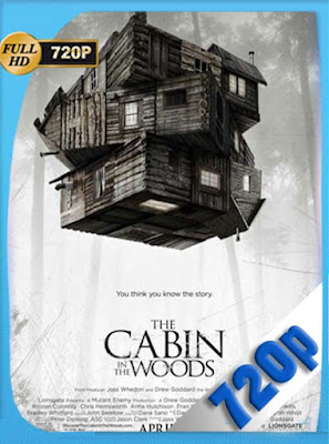 The Cabin In The Woods (2012) HD [720P] latino [GoogleDrive] DizonHD