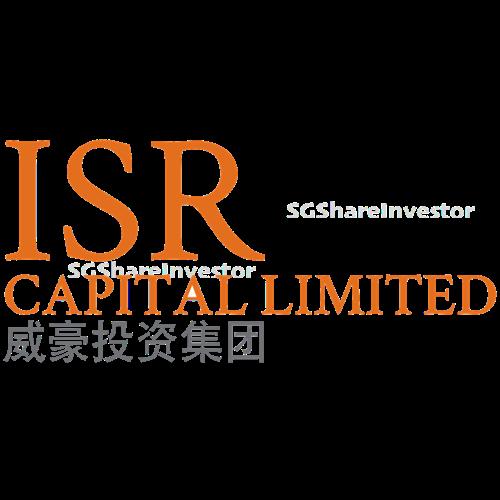 ISR CAPITAL LIMITED (SGX:5EC) @ SGinvestors.io