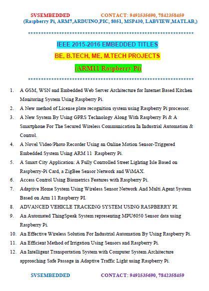 Labview Mini Project Topics